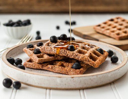 wafel recept - wafel recepten - gezond recept - gezonde recepten - wafeldag - wafels bakken - wafels maken - wafelijzer