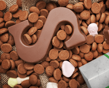 glutenvrije pepernoten - lacgtosevrije pepernoten - pepernoten glutenvrij - pepernoten recept - glutenvrije chocolade letter
