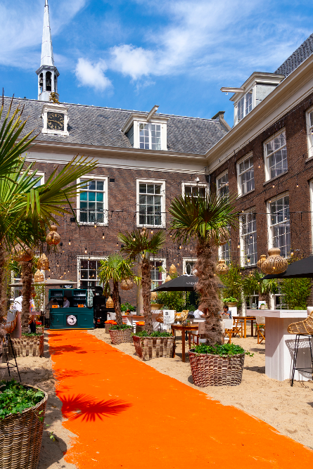 The Grand Beach - pop up terrassen amsterdam
