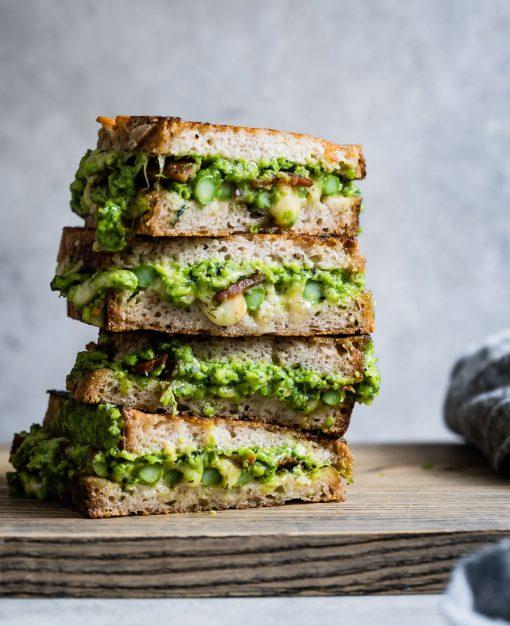 gezonde recepten - groentegerechten - gezonde gerechten - groente recepten - tosti recepten
