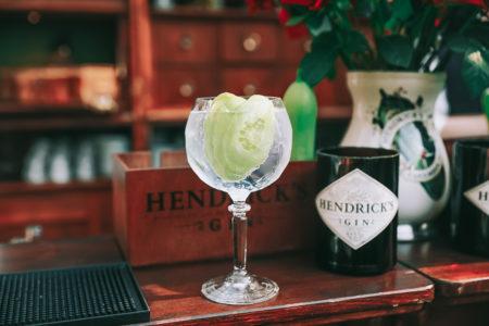 hendrick pop-up bar - hendricks gin - komkommerspelen