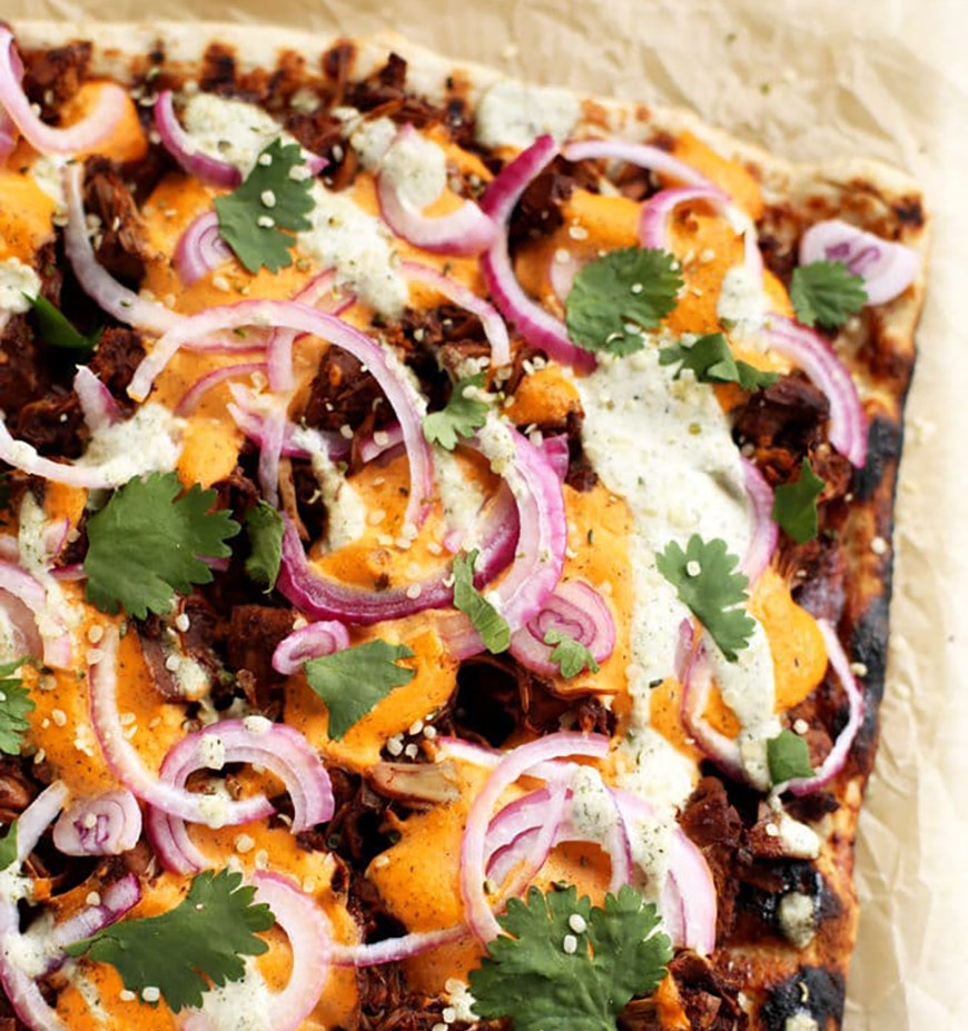 jackfruit pizza recept
