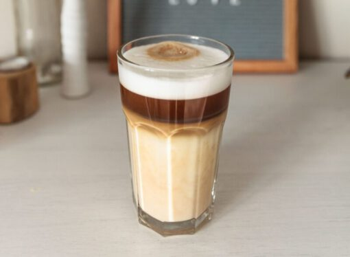 havermout cappuccino - ontbijt met havermout - havermout ontbijt - cappuccino