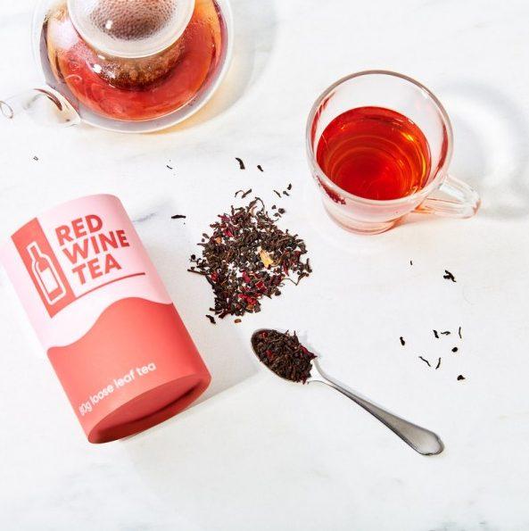 rode wijn thee- drank trend - thee van rode wijn - thee trends