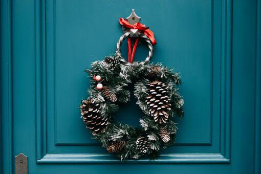 wat te doen met kerst - kerstkrans - wat te doen in december