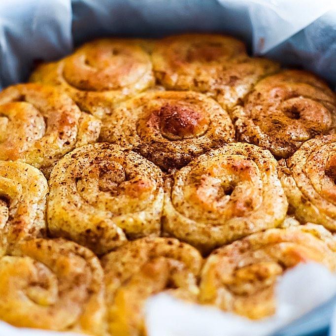 cinnamon rolls recept - keto recept
