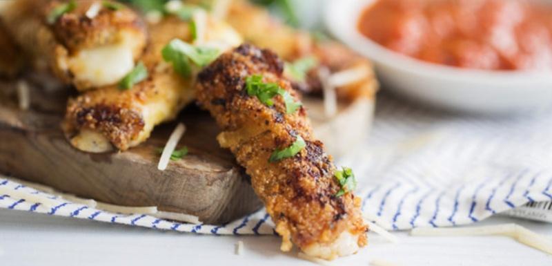 mozzarella sticks recept