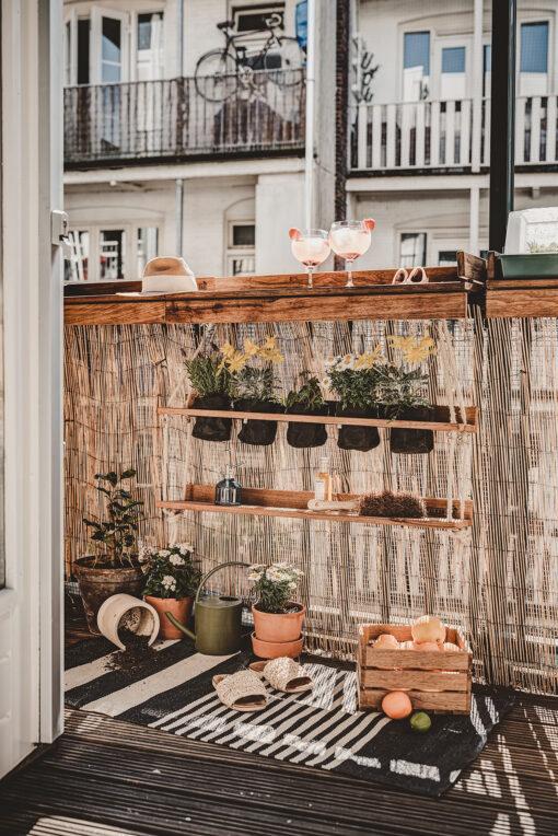 zomers balkon - klein balkon tips