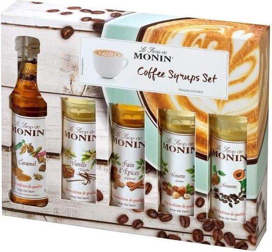 cadeaus voor koffie liefhebbers - koffie siroop