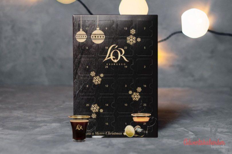 koffie adventskalender - aftelkalenders - originele adventskalenders - adventskalenders voor foodies - adventskalenders gevuld met drank -