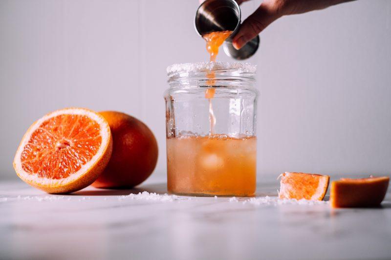 koningsdag cocktail - koningsdag - oranje cocktail - oranje margarita - koningsdag drankje - oranje drankjes