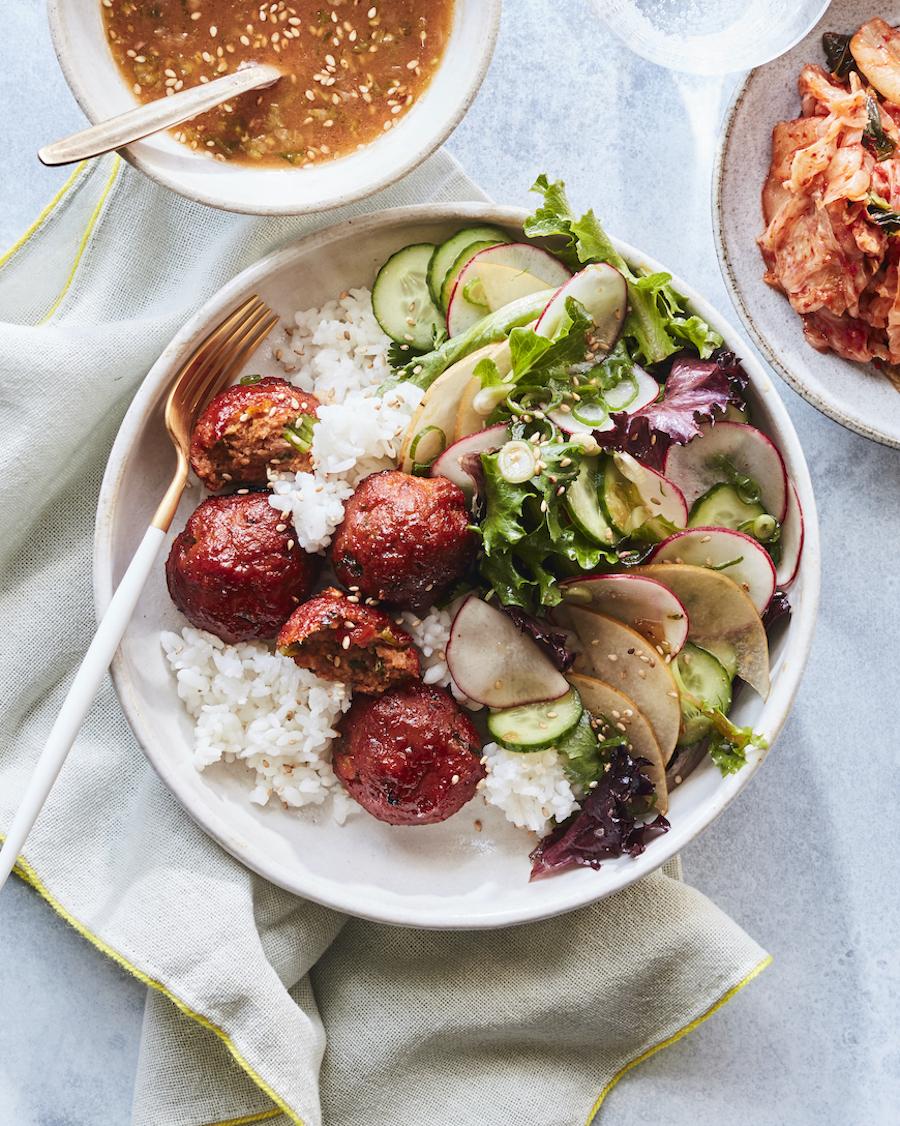 koreaanse recepten - koreaanse gerechten - rijst gerechten - rijst recepten