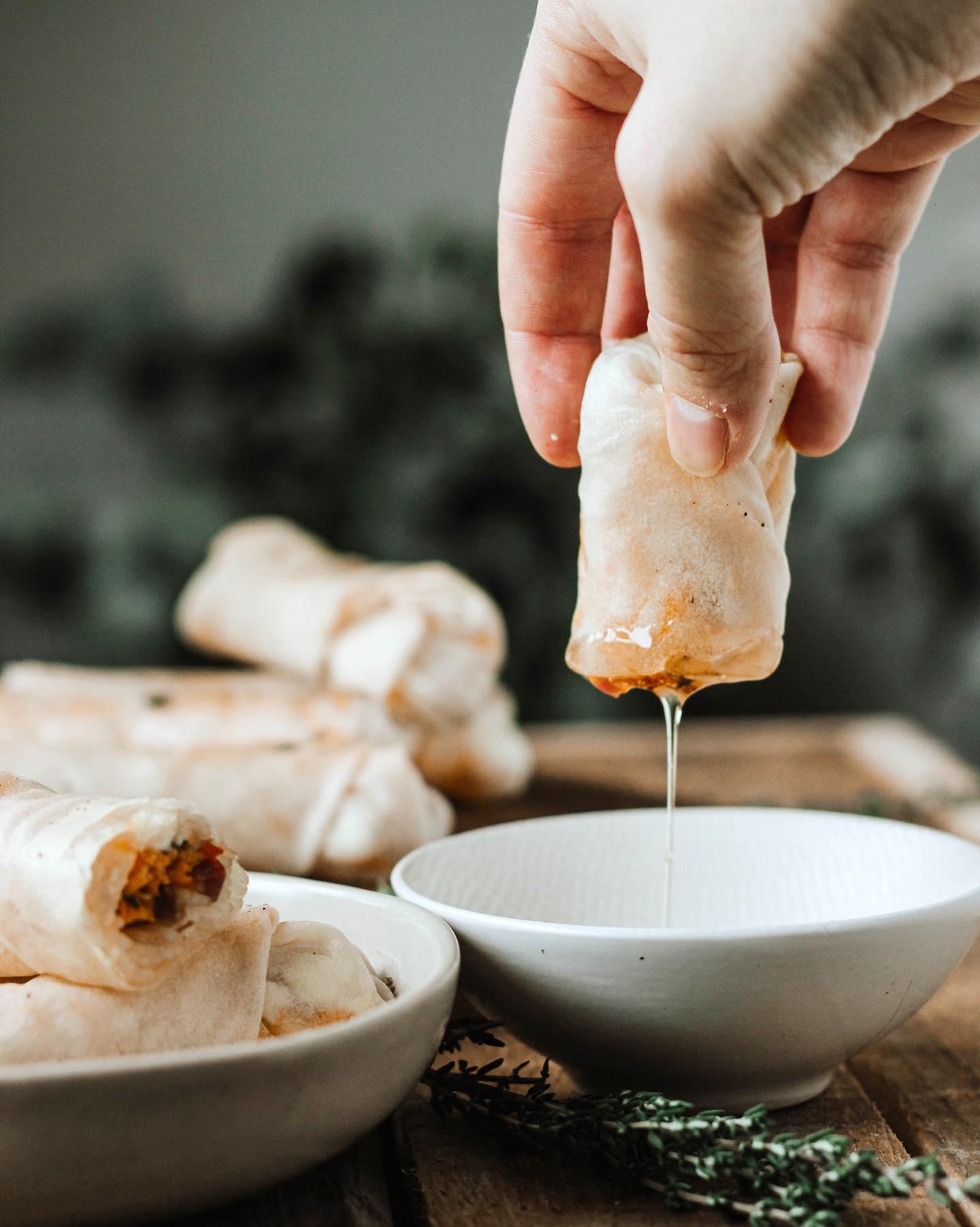 loempia recept - gezonde loempias uit de oven