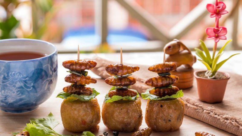 restauranttrends - technologische trends horeca - mc criciket - insecten op je bord