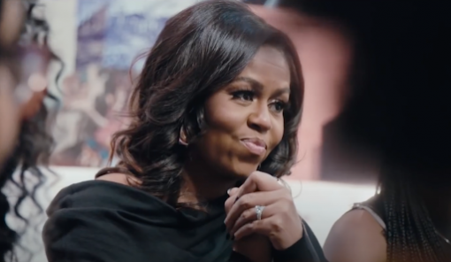 michelle obama netflix documentaire becoming