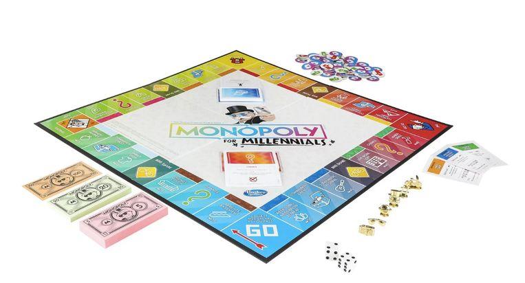 monopoly millennials - monopoly - spellen spelen - bordspellen - bordspel - monopoly spelen - spellen