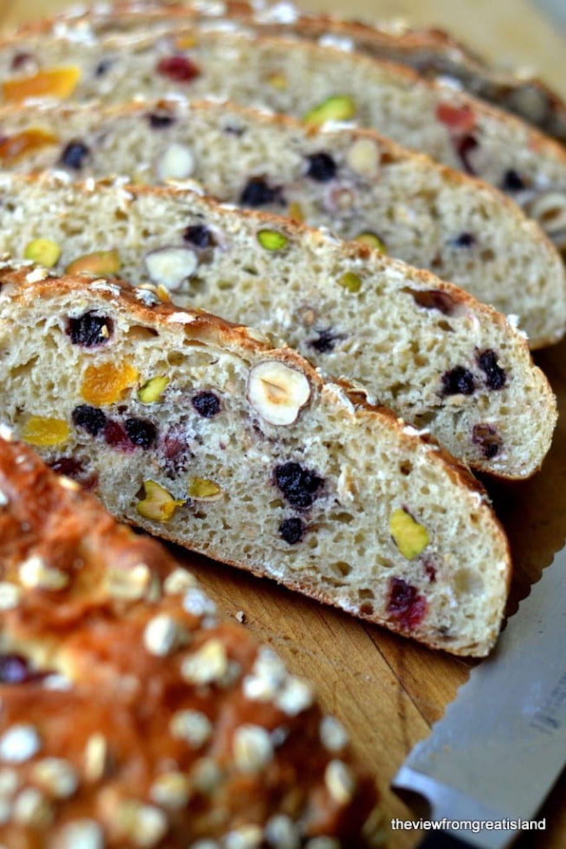 muesli brood maken - muesli brood bakken