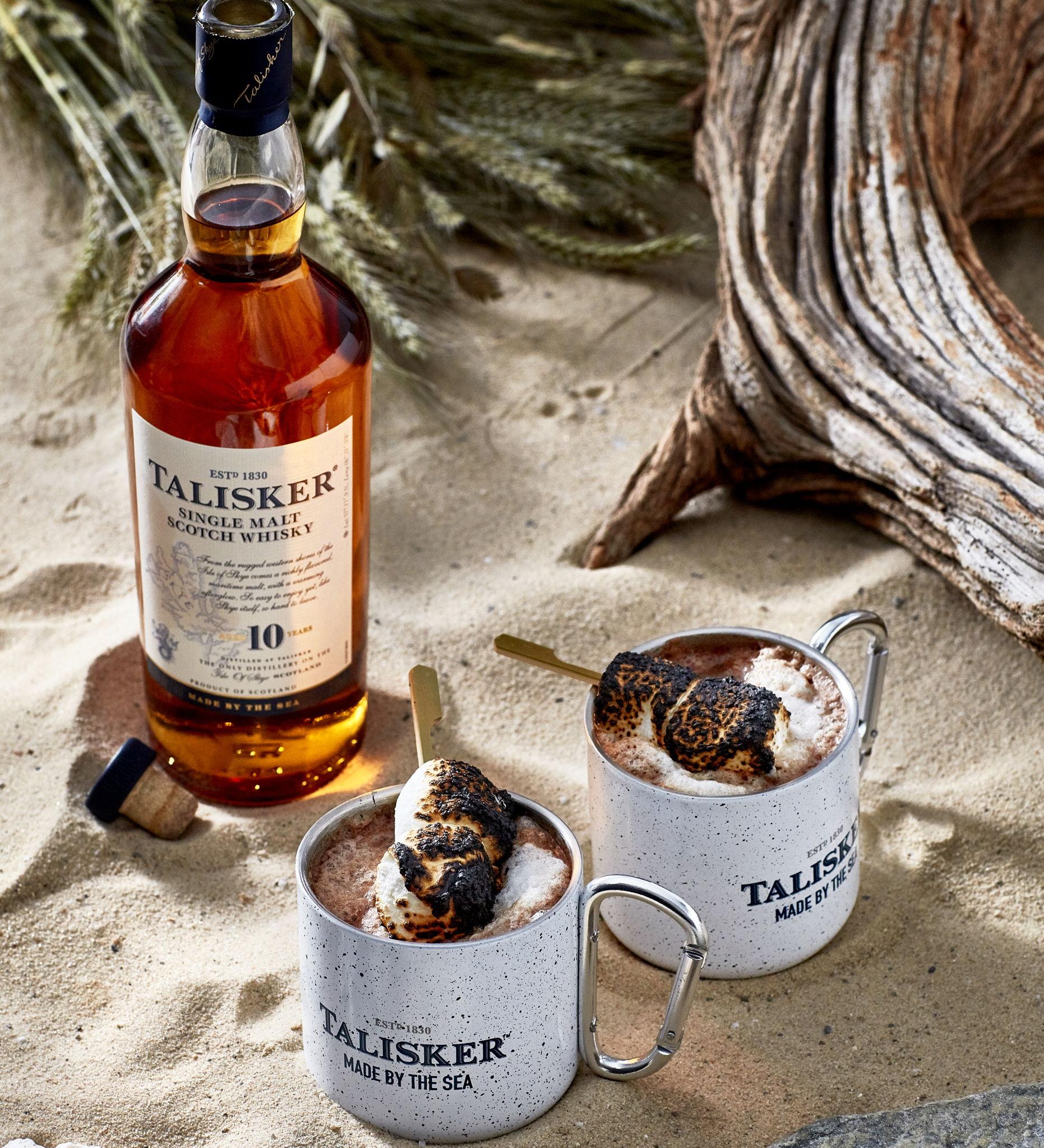 Talisker made by the sea- recepten met whiskey - Taliskey 10 year old - talisker destillery - goede whiskey - Talisker, de enige Single Malt whisky van het eiland Skye: een warm welkom van een wilde zee