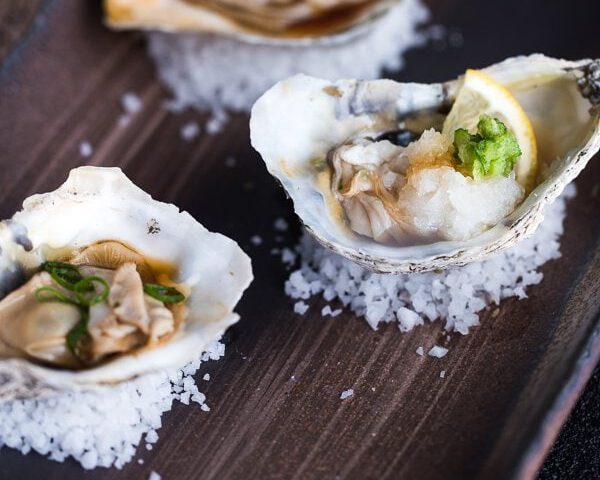 oesters toppings - oesters dressing - oester topping - oesters - oesters vinaigrette