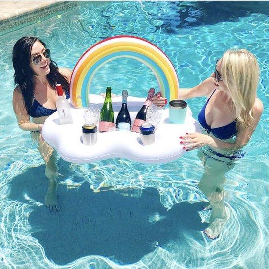 opblaasbare koelbox - opblaasbaar - opblaasbare figuren - zomer producten - zwembad accessoires - zomer tips - luchtbedden zwembad - opblaasbare accessoires - minibar opblaasbare - mini bar opblaasbaar