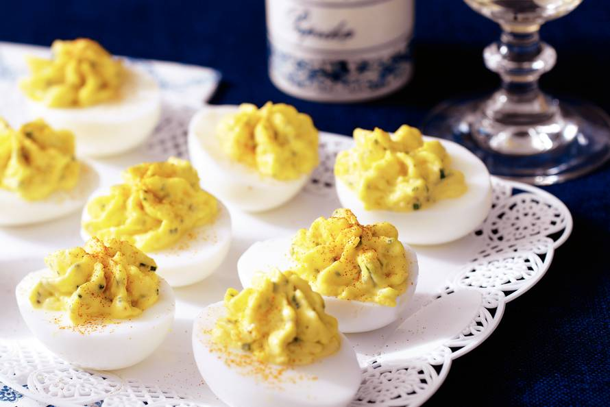 recepten gevulde eieren - gevulde eieren recept - gevulde eieren - lente recepten - gezonde recepten - paas recepten