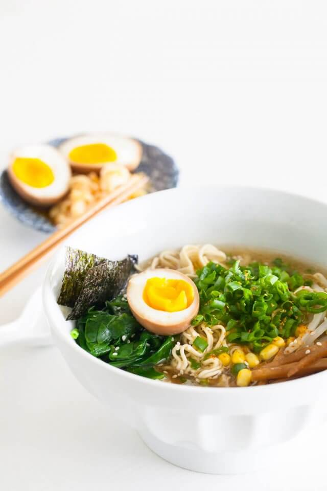 ramen noodle recepten - ramen recepten - noodle recepten - makkelijke recepten - gezonde recepten