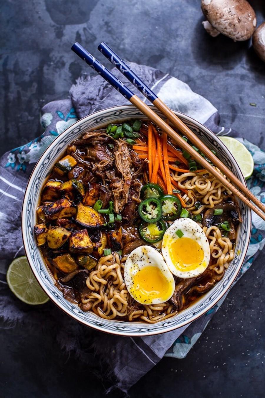 ramen - ramen soep - oosterse soep - aziatische soep