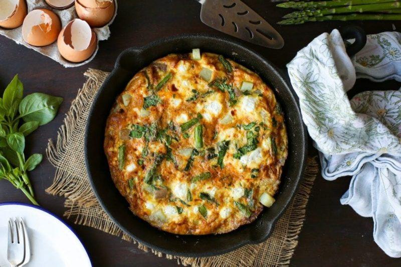frittata recept - vegetarisch recept - vegetarische recepten - vega recept - nationale week zonder vlees