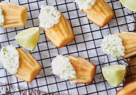 recept madeleines - Madeleines kokos - Madeleines limoen - Madeleines recepten - Madeleine recept