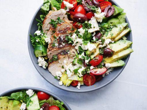 mediterrane recepten - salade recepten - makkelijke recepten - lunch recepten - simpele gerechten - simpele recepten