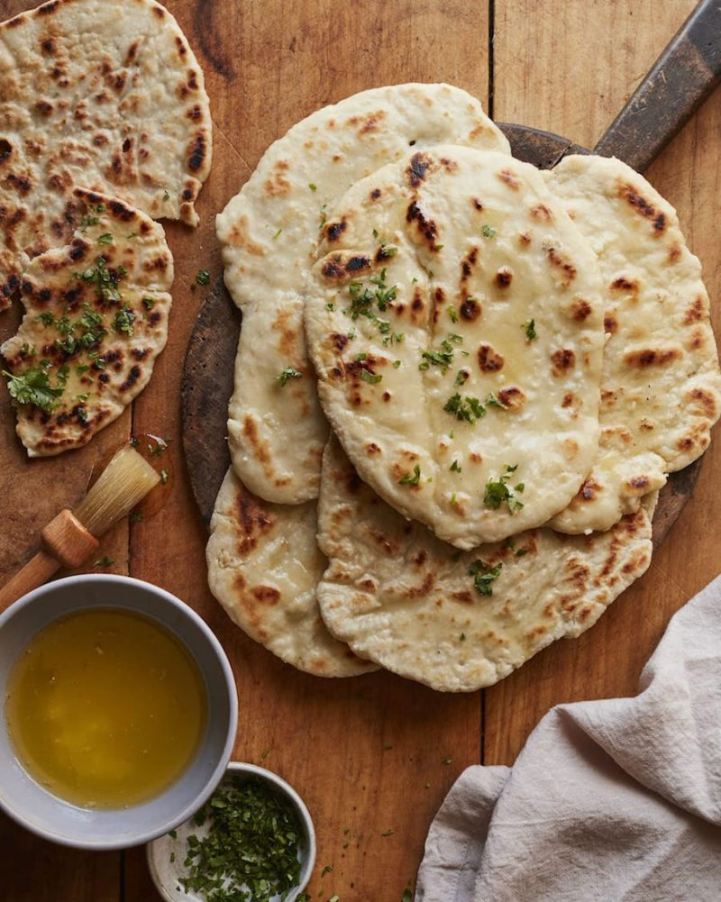 naan brood - naan brood maken - naan brood recept