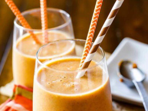 recept smoothie - recept herfst - recept met banaan - recept met pompoen - recept met pecannoten - ontbijt recepten - smoothie recepten - ontbijt recept - ontbijt recept herfst - smoothie recepten - smoothie recept