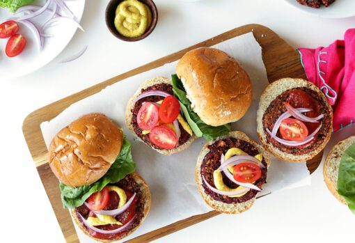bieten burgers - biet burgers - hamburgers rode biet - hamburgers rode bieten