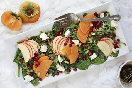 recept met kaki - salade met kaki - salade recept kaki - kaki salade maken - gerecht maken met kaki - wat is kaki - kaki fruit recepten - kaki recepten - kaki fruit gezond