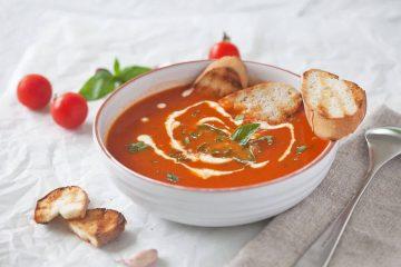 recept tomatensoep - tomatensoep recept - klassieke tomatensoep - recept met tomaat