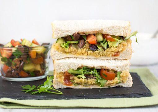 recept sandwich - sandwiches - broodjes - brood beleg - brood recepten - proteïne - proteïnerijk - eiwitten