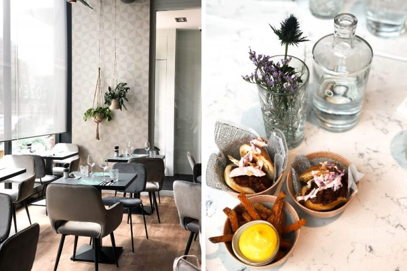 vegan restaurants rotterdam - rozey rotterdam - vegan eten in rotterdam