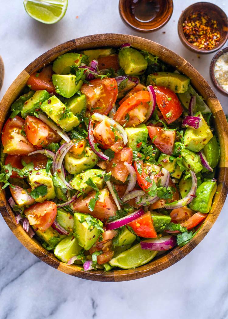 salade bij de barbecue - bijgerechten bbq