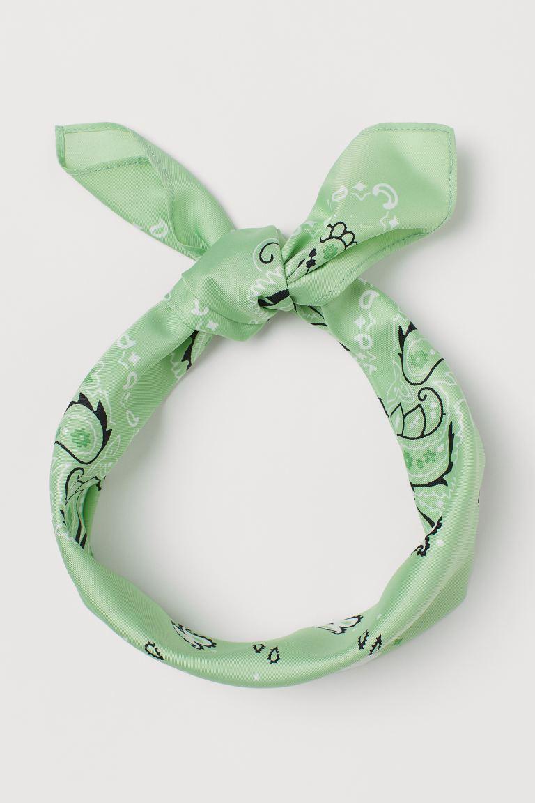 haaraccessoires - haar accessoires - leuke accessoires - leuke haar accessoires - lente accessoires - sjaaltje - haarband