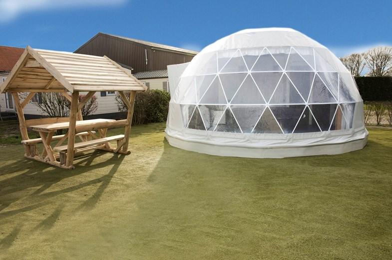 slapen in een iglo - bijzonder overnachten nederland