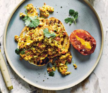 recept scrambled eggs - scrambled egg - scrambled eggs recepten - scrambled eggs recept - gezonde scrambled eggs - gezond scrambled eggs - spicy scrambled eggs - pittig ei - pittige scrambled eggs