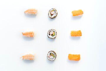 sushi soorten - sushi uitleg - sushi - sushi eten - sushi bestellen - sushi stukjes