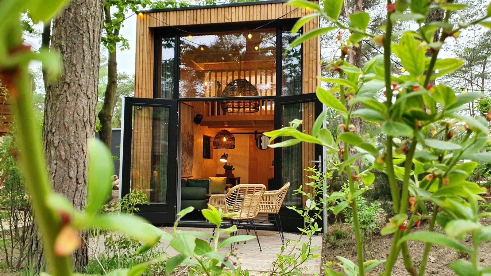 tine house droomparken - tiny house spaarnwoude - tine houses in de natuur - tine house boeken