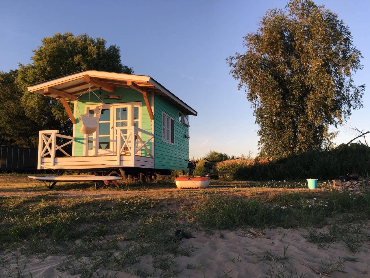 vakantiehuisje huren aan strand