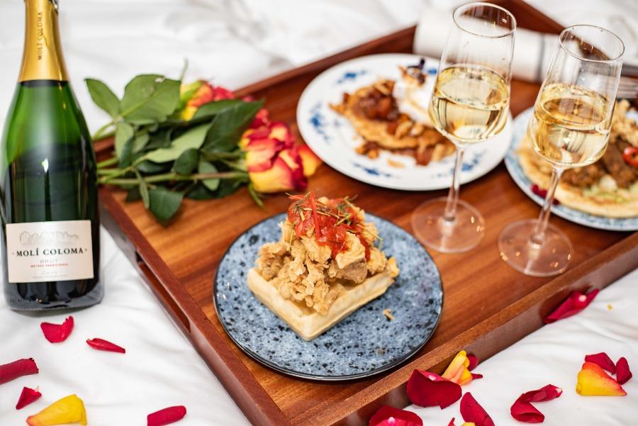 valentijnsdine afhaal - valentijnsdag diner bestellen - valentijnsmenu afhaal