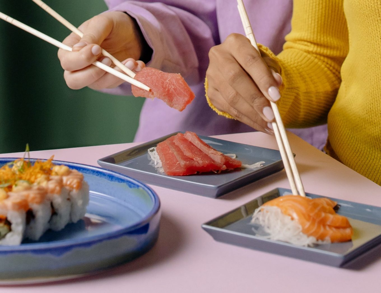van sushi word je slimmer