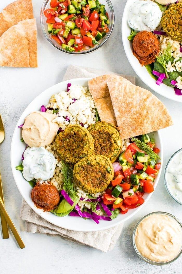 vegetarische recepten - vegetarische gerechten - vegetarische lunch - lunchrecepten - makkelijke recepten - makkelijke lunchgerechten