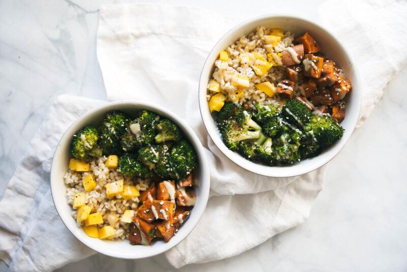 buddha bowl recept - buddha bowl recepten - gezonde - makkelijke - vegan - veganistische gerechten - zoete aardappel