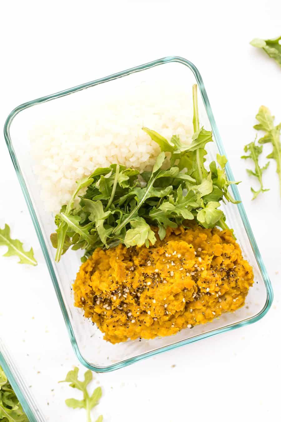 recept vegan curry