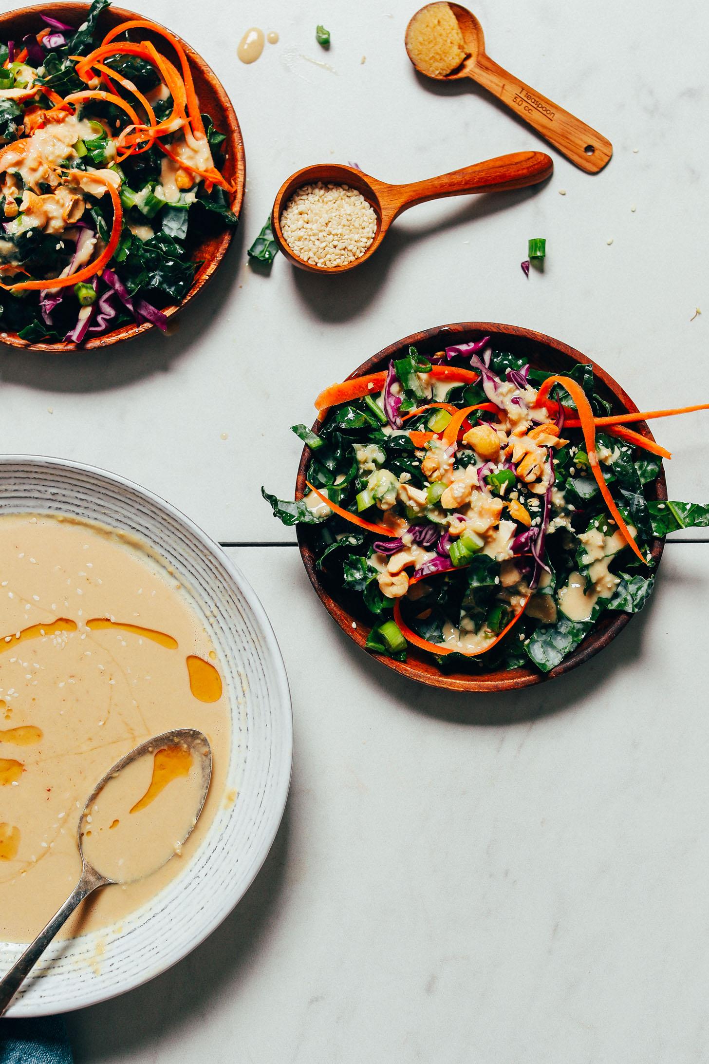 vegan dressing - vegan dressing recepten - dressing recepten - vegan salades